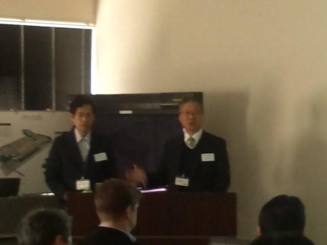 宮沢工業株式会社 宮沢 様(左)・WGP株式会社 川村 様(右)