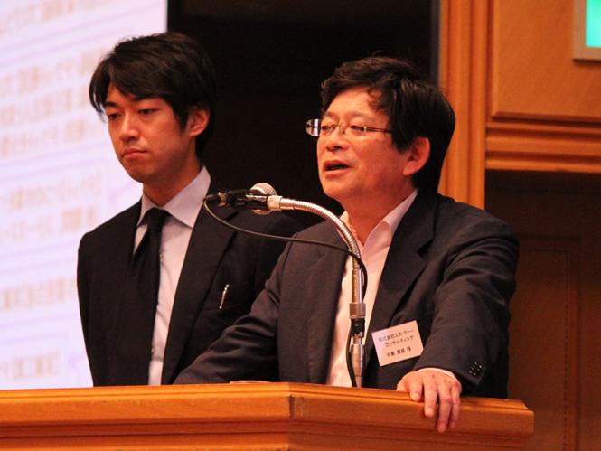 株式会社エヌ・ケー・コンサルティング 中島様(右) 株式会社文祥堂 平井様(左)