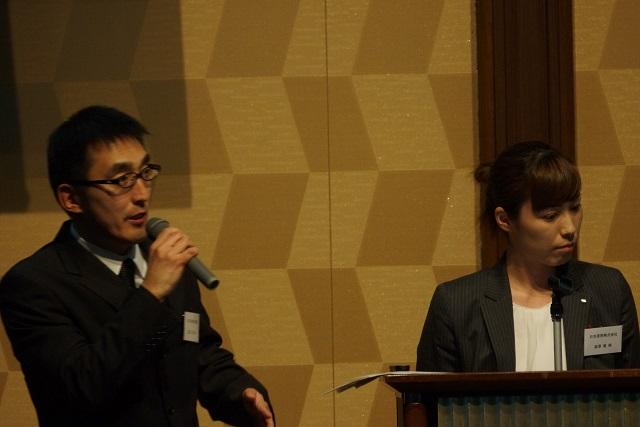日本原燃株式会社 渡辺 様(左)・森澤 様(右)