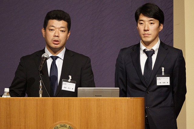 東京電力ホールディングス株式会社 渡部 様(左)・小島 様(右)
