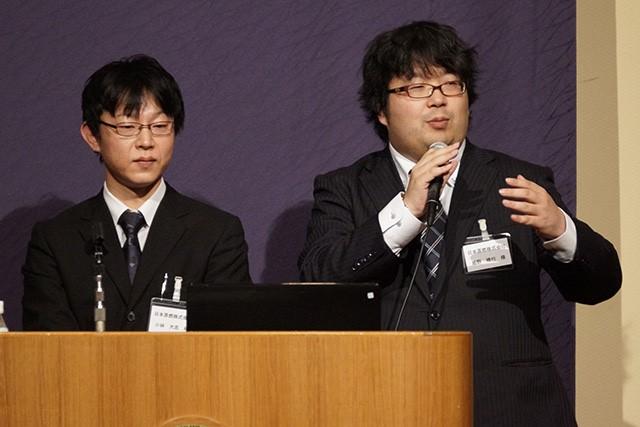 日本原燃株式会社 小林 様(左)・姫野 様(右)