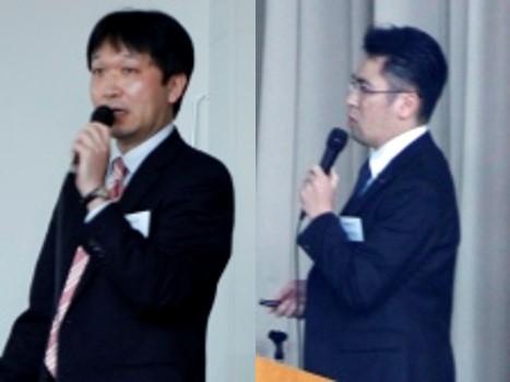株式会社LIXIL 松下様(左)・前田様(右)